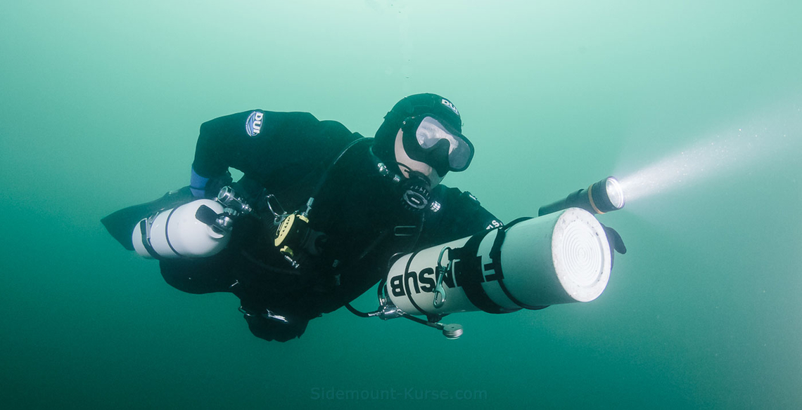 Sidemount Instructor Robert Roby Uhlmann